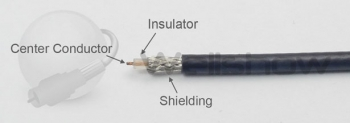 Assembly Instructions: Strip coax cable
