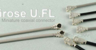 Hirose U.FL connector (Equiv. to IPEX MHF connector)