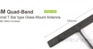 AG001 GSM Quad-Band Antenna Glass Mount