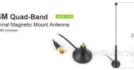 AM001 GSM Quad-Band Antenna Magnetic Mount